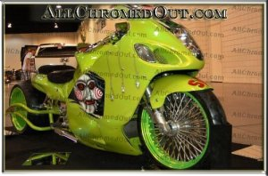 "The Unofficial ""Saw\"" movie motocycle Side View"