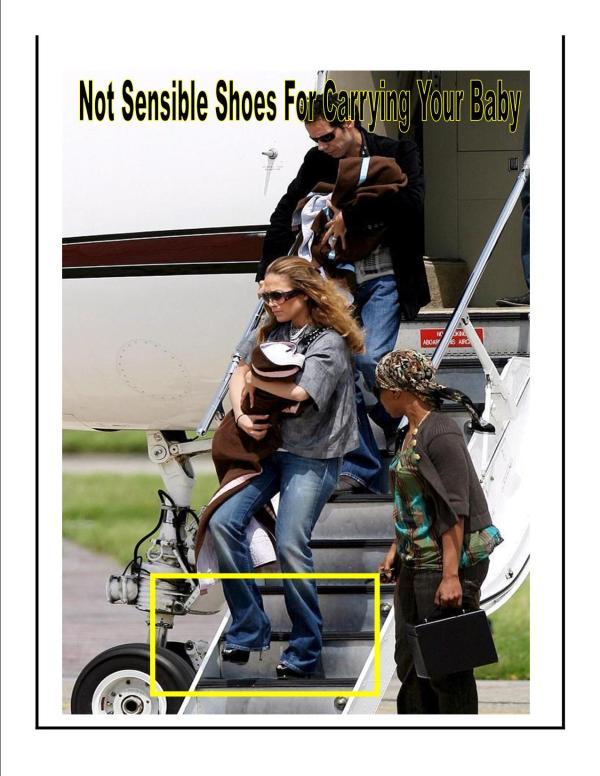 Jennifer Lopez carries her daughter, Emme