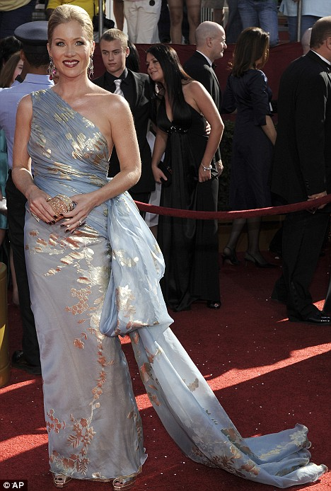Christina Applegate at the 2008 Emmys