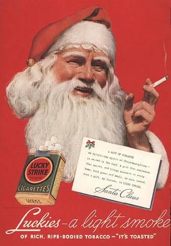 Santa Smokes?