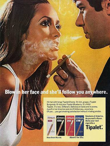 Blowing Smoke In Her Face... Was Sexy?
