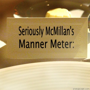 Seriously's Manner Meter