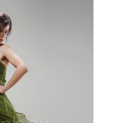 Moss Green Prom Formal