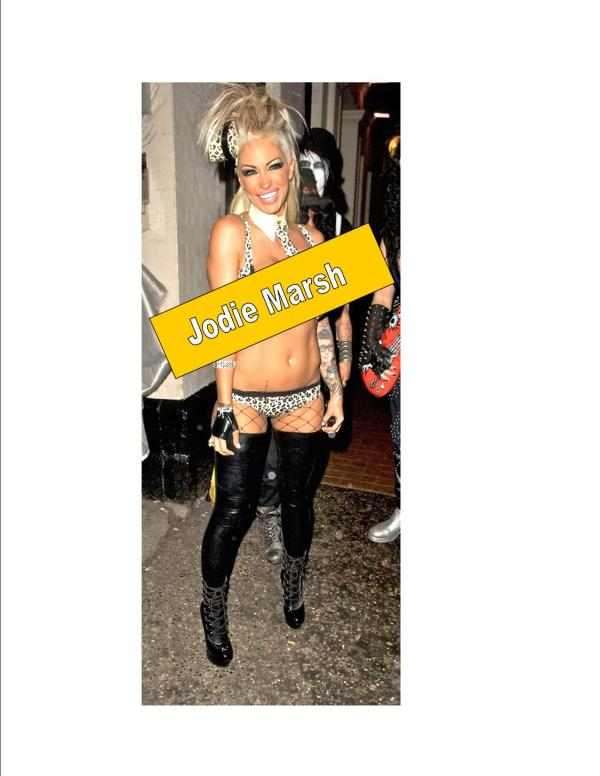 Jodie Marsh: No Clothes Yet!