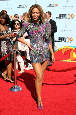 Beyonce at BET Awards 2009