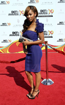 Meagan Good BET Awards 2009